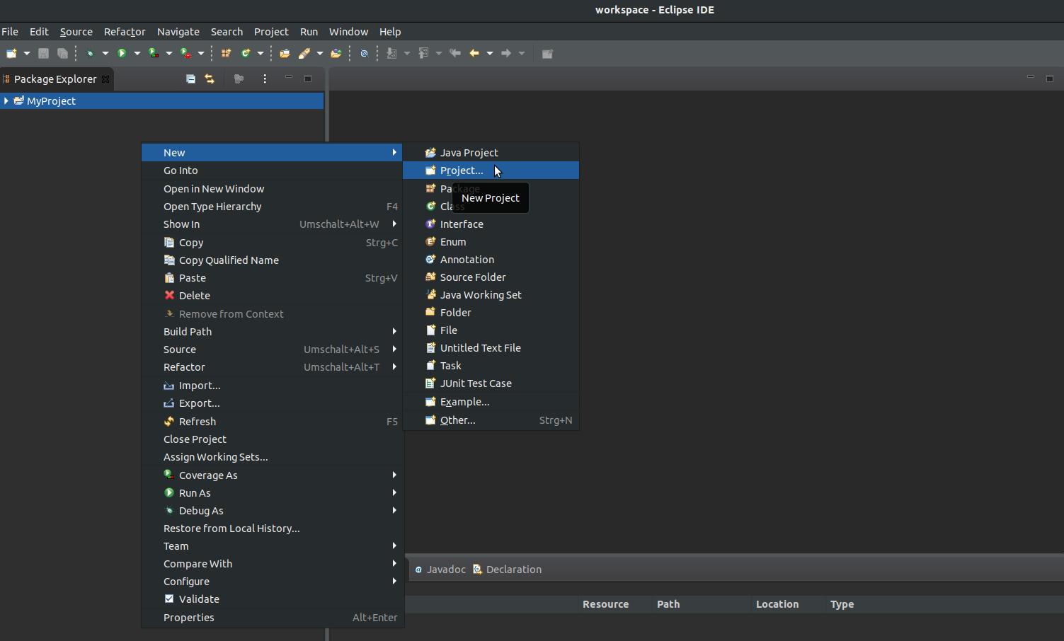 TweetyProject - Documentation - Install Eclipse